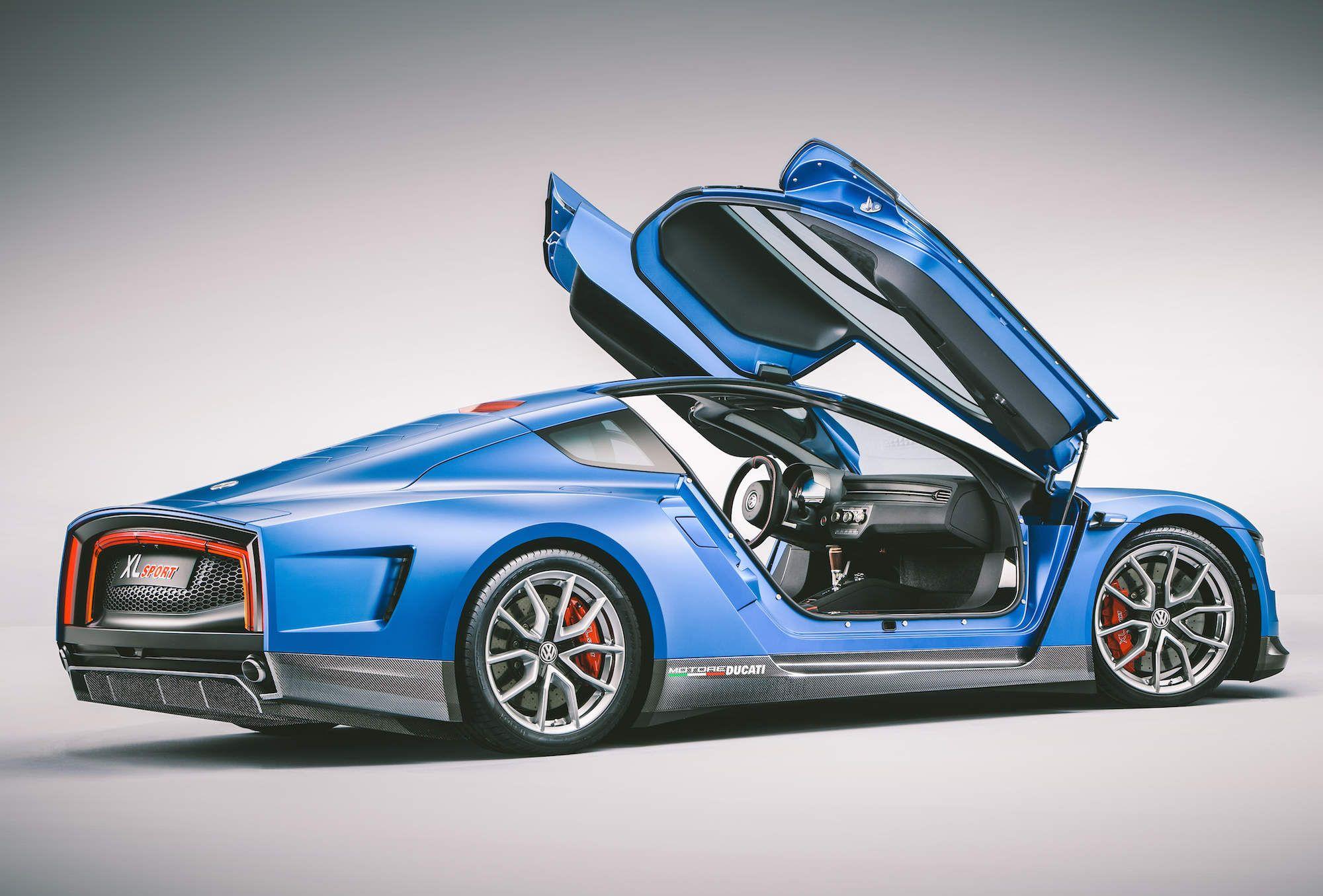 The Xl Sport Is Volkswagen S New Ducati Powered Supercar New Ducati Volkswagen Super Cars