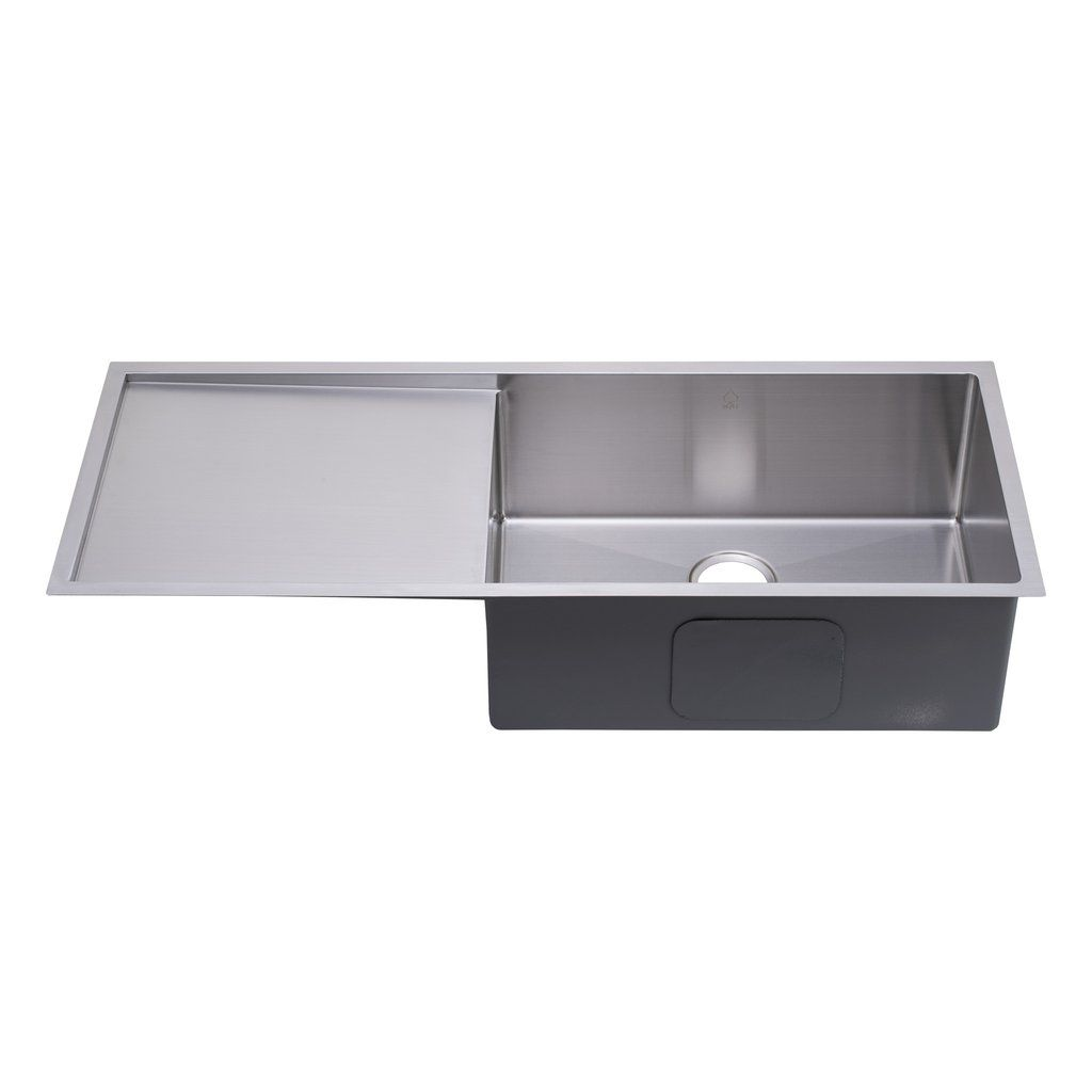 Update your kitchen décor with this stainless steel single bowl with ...