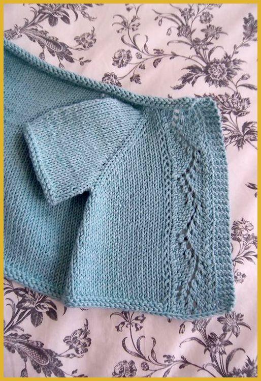 Photo of Vine Lace Cardi – Knitting Pattern