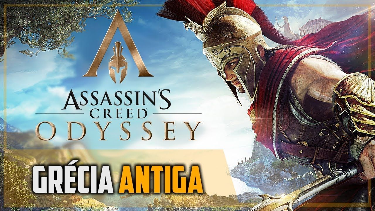Assassin's Creed Odyssey e a Grécia Antiga Prévia