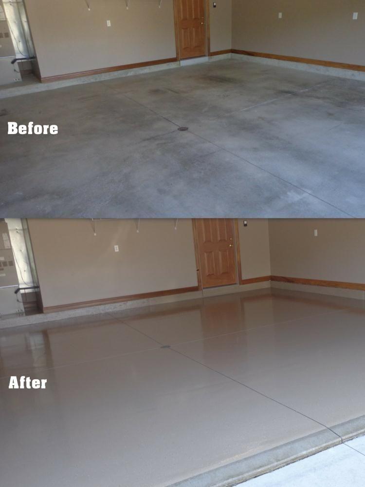 Partial Flake Supremecrete Flooring Garage Style Diy Home Improvement