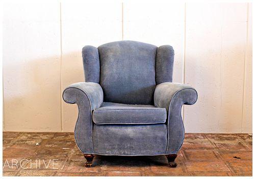 Al Wingback armchair