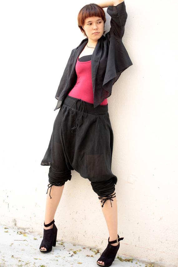 Pants/Helen Pants.. mix silk (XL-XXL) 338 #gypsysetup