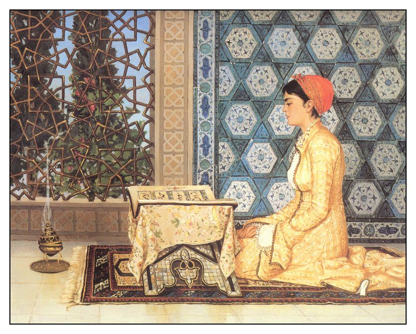 Osman Hamdi Bey - Qoran Reading Girl