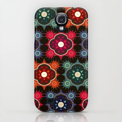 galaxy flowers iPhone & iPod Case