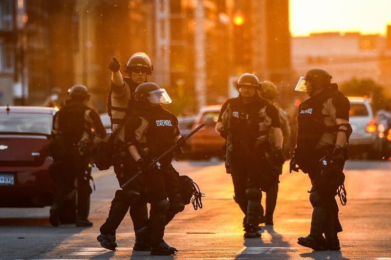 Judge Approves Restraining Order Against Minneapolis Police Black Lives Matter Protest Police Police Chief