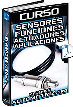 Sensores y actuadores de la suspension electronica