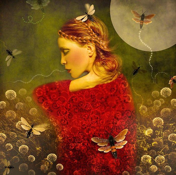 Marta Orlowska  —  Magic Garden (700x696)