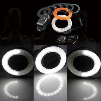 5W 48 LED Macro Ring Video Studio Panel Light Lamp for Canon DSLR Camera Model A