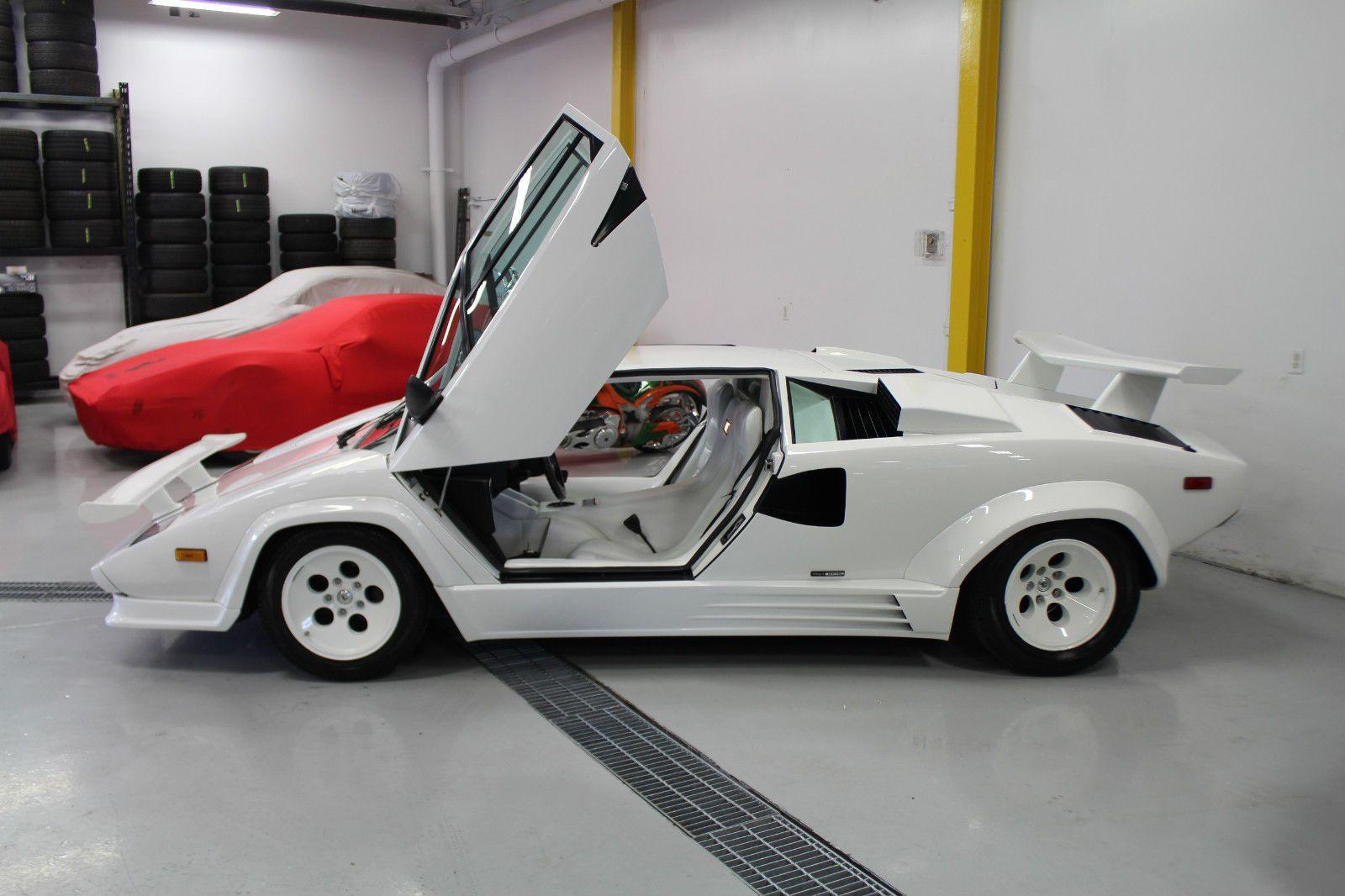 Details About 1988 Lamborghini Countach Lamborghini Lamborghini