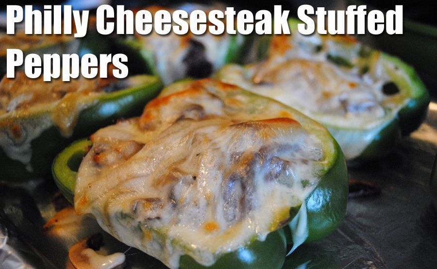 4 mom recipes best philly cheese steak stuffed peppers