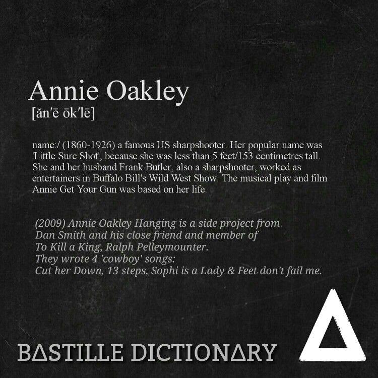 Bastille Annie Oakley Hanging To Kill a King   Bastille ...