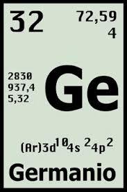 Resultado de imagen para el germanio en la tabla periodica resultado de imagen para el germanio en la tabla periodica urtaz Gallery