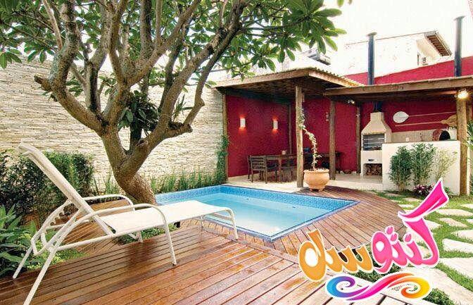 تصاميم حمامات سباحه داخليه اشكال مسابح منزليه مسابح منزلية صغيرة حمامات السباحة المنزلية Outdoor Decor Home Decor Pool