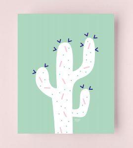 Diy Cactus Calin Un Album Sur L Amitie Et La Difference Diy Album Etsy