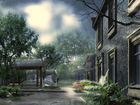 Escaping The Vampire At Hidden4fun Com Rainy Day Wallpaper Landscape Wallpaper Beautiful Nature Wallpaper