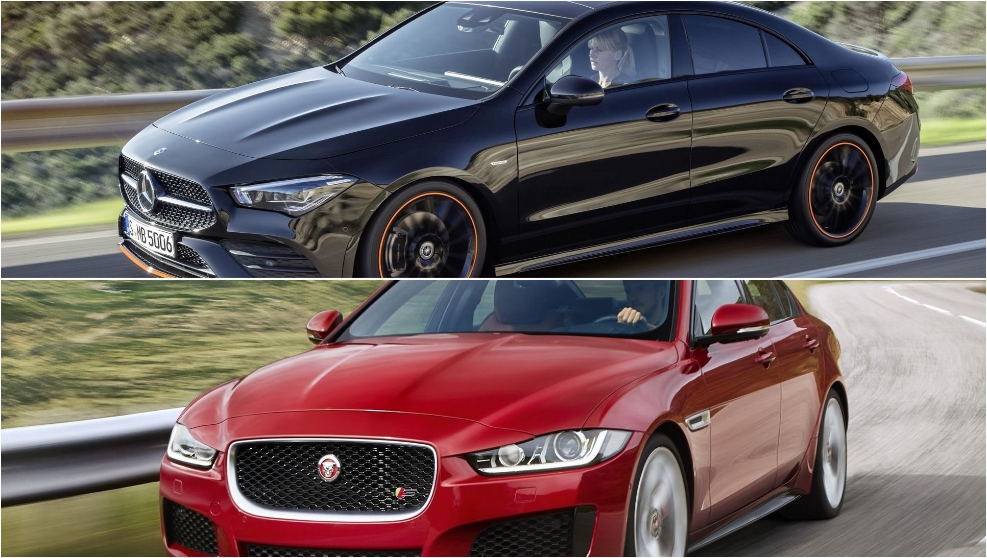 2020 Mercedes Cla Vs 2019 Jaguar Xe Cars Jaguar Xe Jaguar