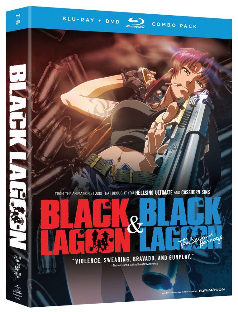 Black Lagoon DVD/Bluray Complete Series (Hyb) Anime