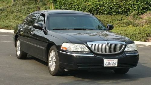 2007 Lincoln Town Car Executive L Series Cng Cng Cng Carpool