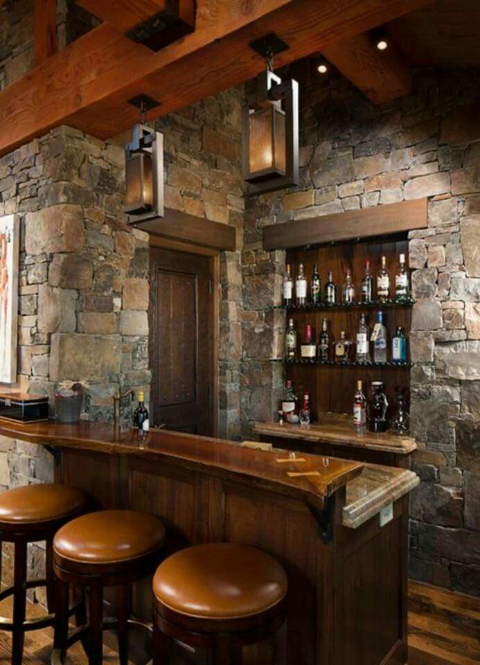 Old Town Type Bar For Your Home