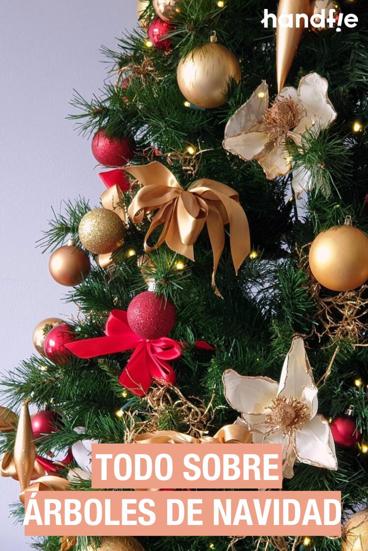 árboles De Navidad La Guía Definitiva Handfie Diy Decoracion De Arboles Arbol De Navidad Decoracion Arbol De Navidad