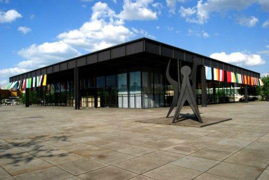 Magnifica obra de Arquitectura de Mies Van der Rohe en Berlin... la Neue Nationalgalerie / restauración David Chipperfield (2015)