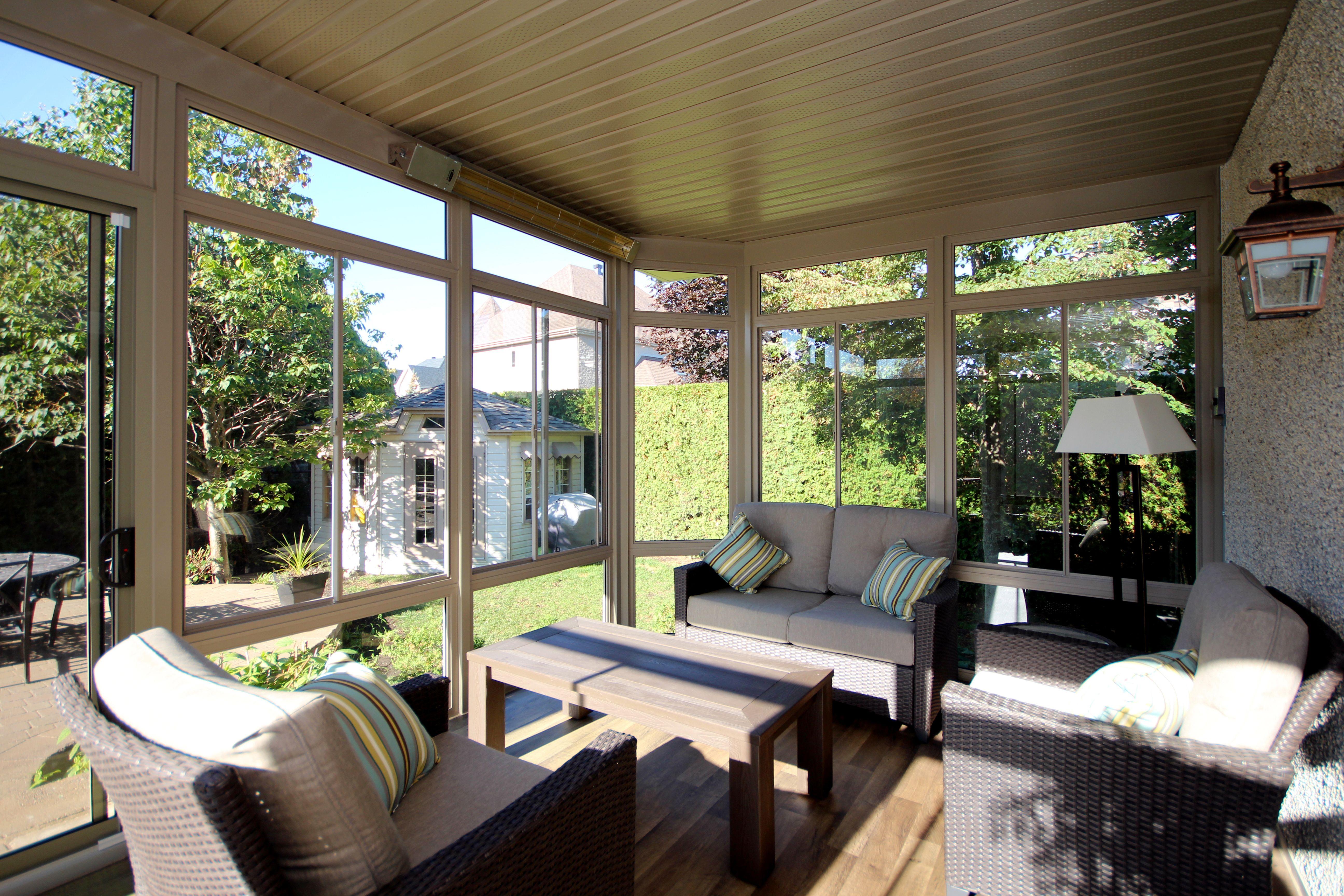 Chauffe Terrasse Dans Votre Solarium 3 Saisons Devancez L Ete Qui Tarde A Arriver Outdoor Decor Patio Pergola