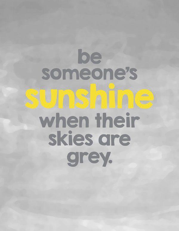 be someones sunshine | Inspirational Craft Ideas