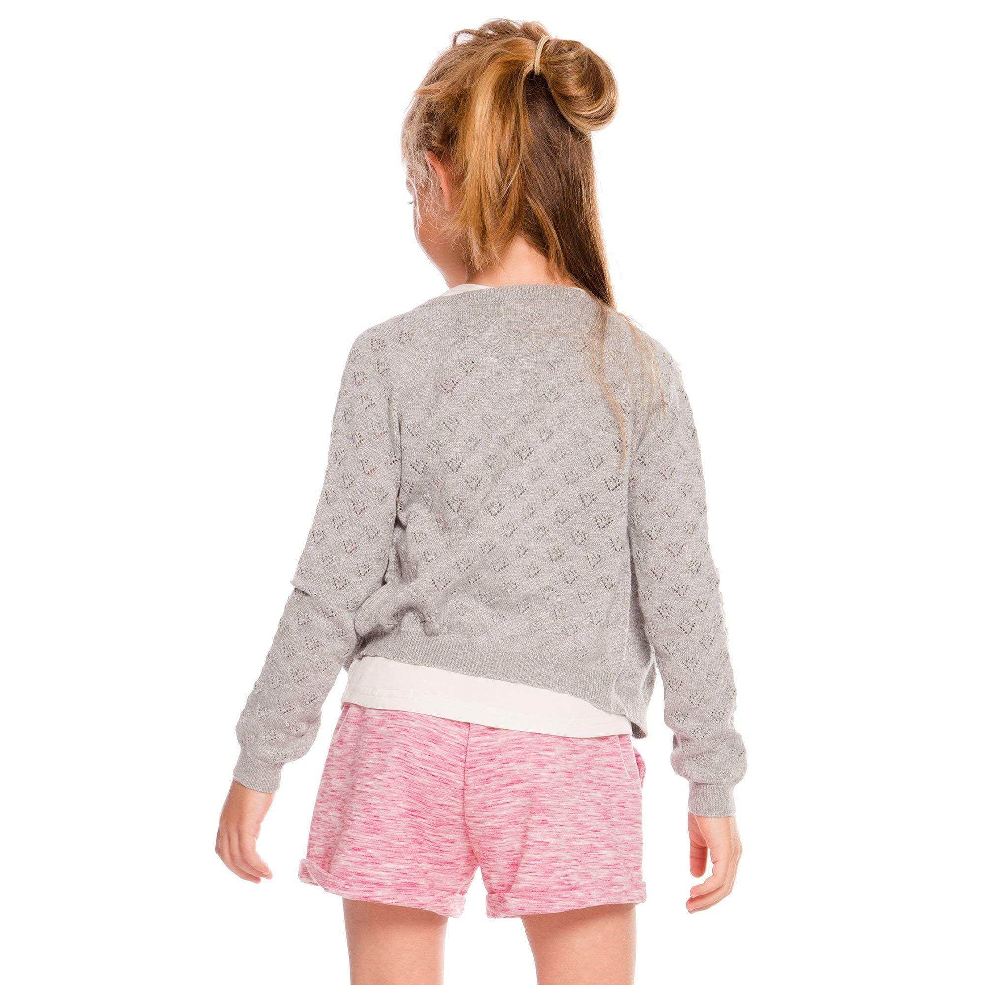 Deux par Deux Toddler Light Heather Knitted Cardigan Sweater, #Ad #Toddler, #Light, #Deux, #par