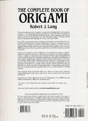 Download origami books the origami.