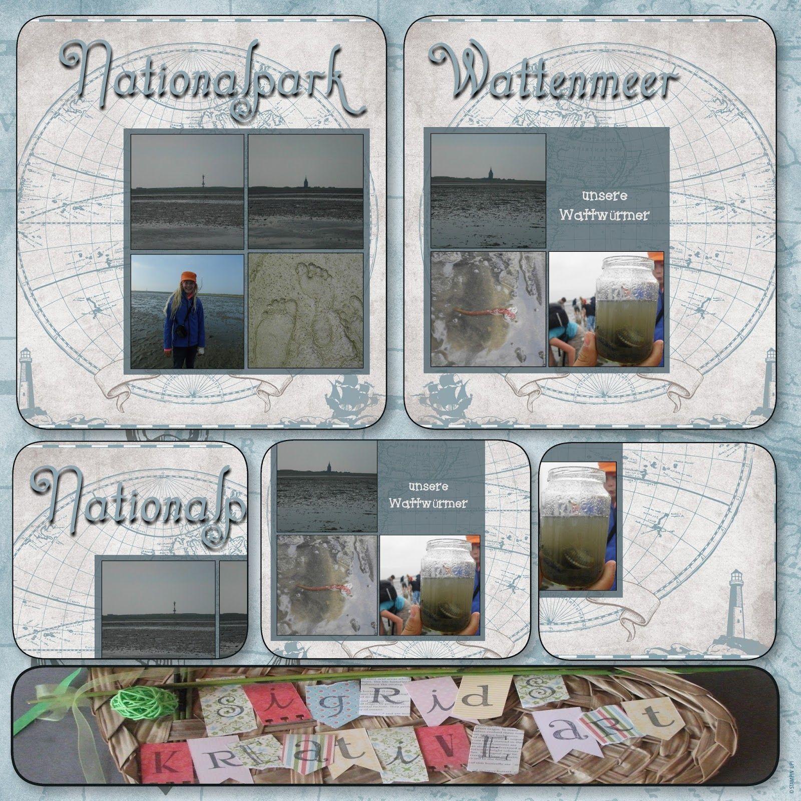 Sigrids kreative ART: Nationalpark Wattenmeer