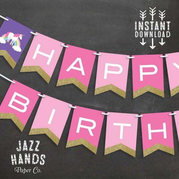 free birthday banner templates