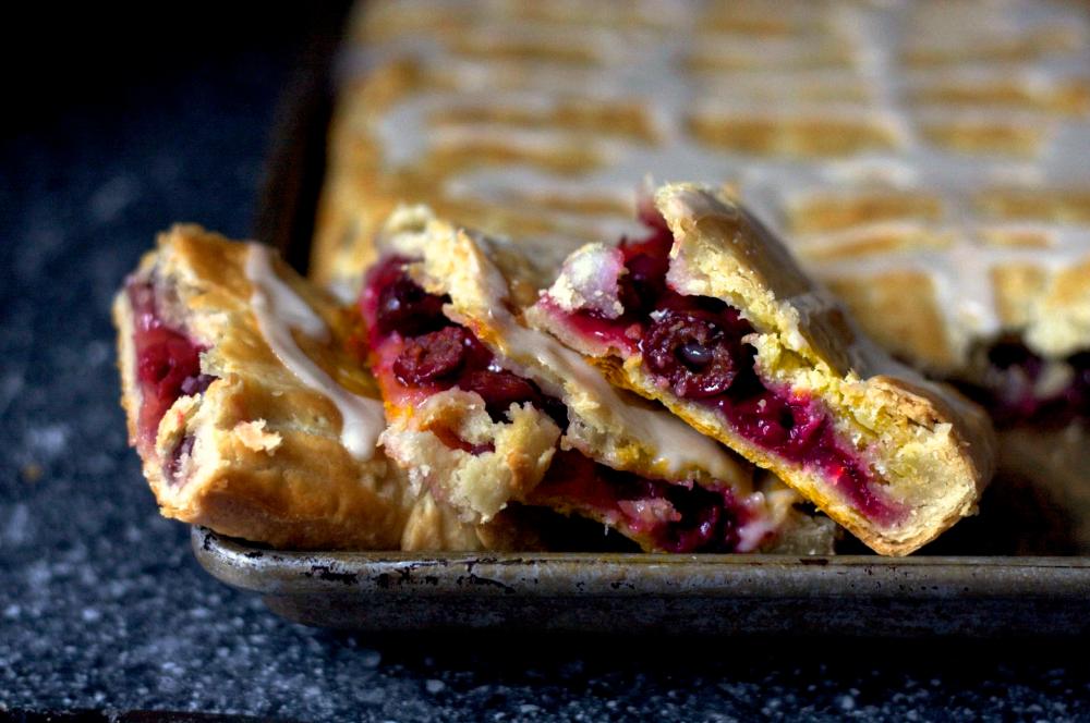 sour cherry slab pie Slab pie, Cherry recipes, Sour foods