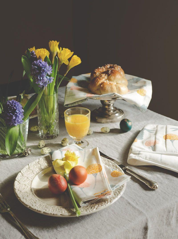 Dezente Tischdeko Fur Den Fruhling Tischdekoration Pastell