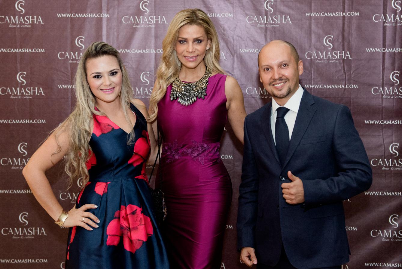 Inauguración Camasha Monterrey - Tuvimos el honor de contar con la presencia de la bella conductora regiomontana Cecilia Gutiérrez en nuestra gran apertura.