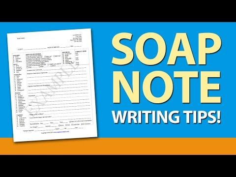 Soap Note Writing Tips For Mental Health Counselors  Soap Note