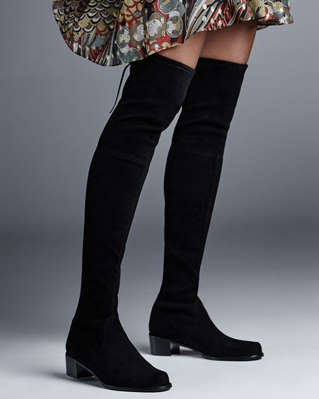 7ce0caa39453 Midland Suede Over-the-Knee Boot