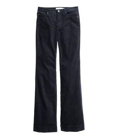 stretch jeans med høj talje