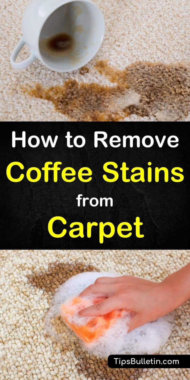 6 incredibly easy ways to remove coffee stains from carpet