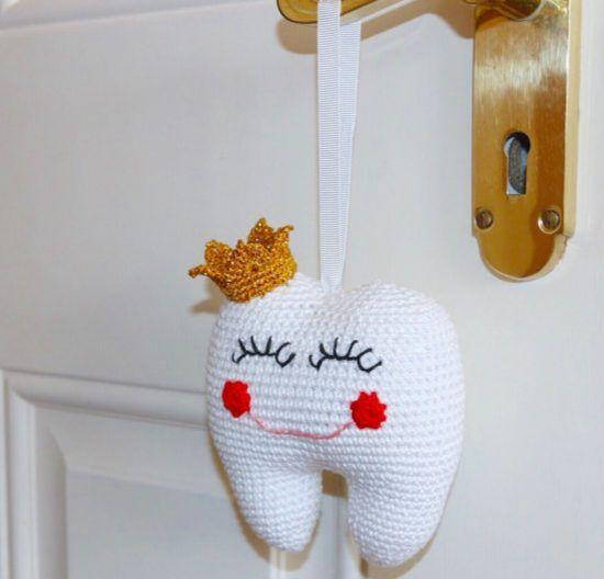 Crochet Tooth Fairy Pouch Pattern вязалочки Crochet