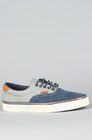 9ec3e5593e The Era 59 CA Sneaker in Dress Blues   Moon Mist by  Vans Footwear ...