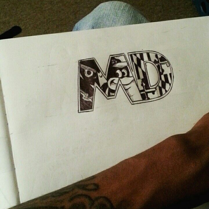 Baltimore maryland tattoo design jesse designs for Maryland tattoo ideas