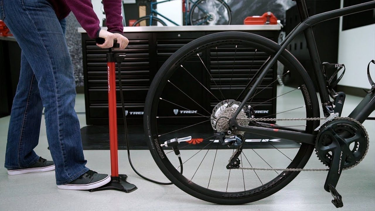 Proper way to put air in my bike tires! Bicycle tires