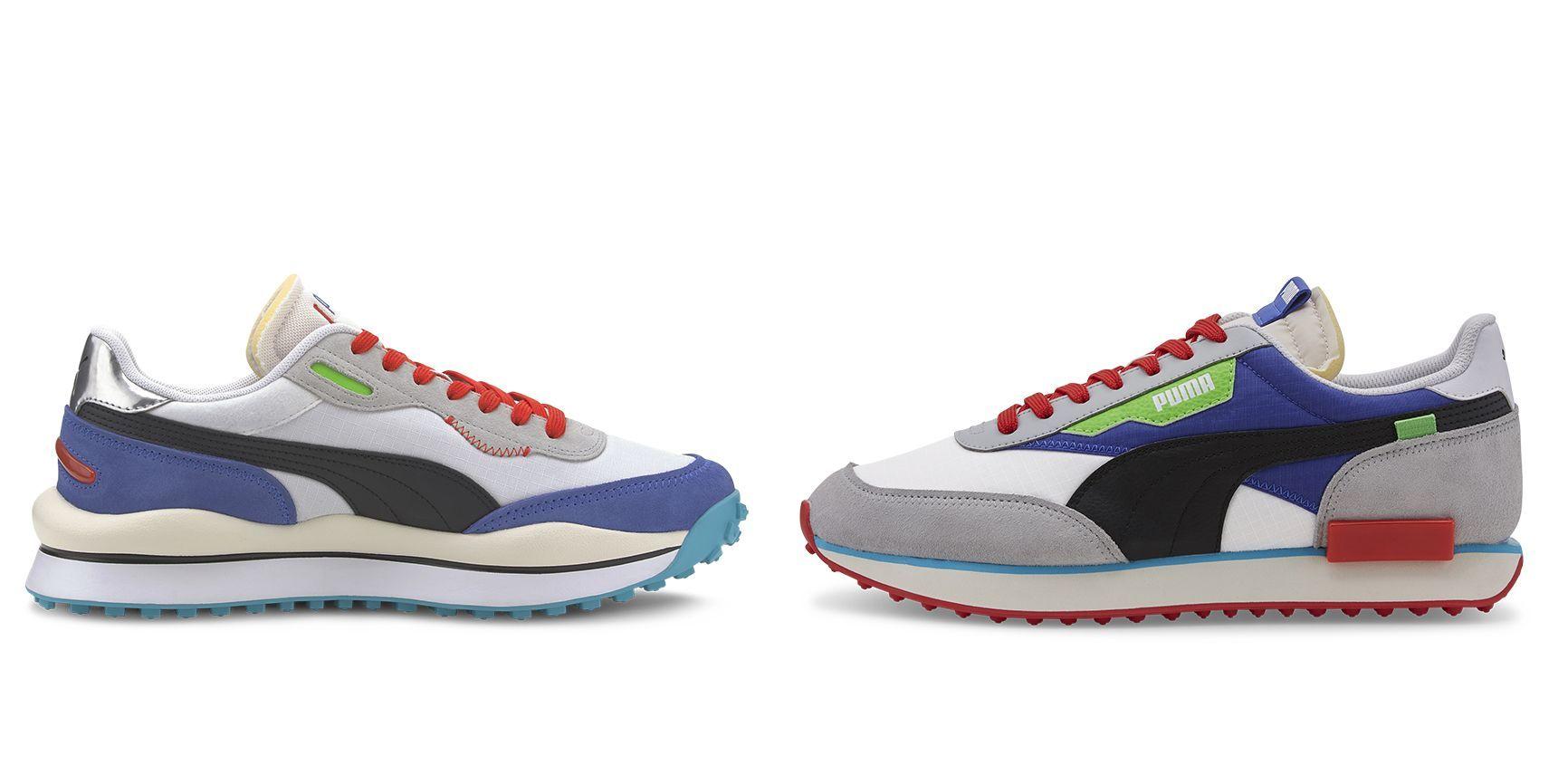 Las Nuevas Zapatillas De Puma Están Inspiradas En Las Fast Rider Su Silueta Más Icónicas De Los 80 Sneakers Sneakers Nike Jordans Sneakers