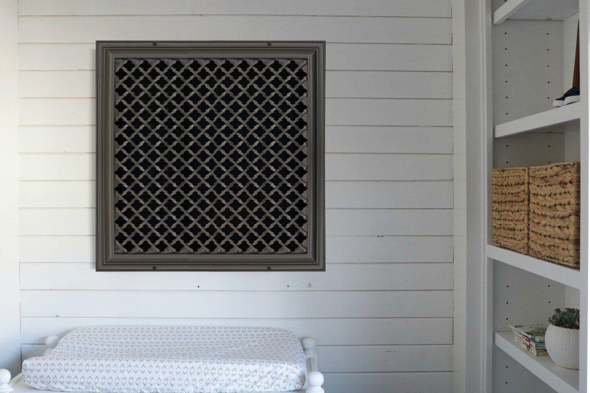 Ribbon Vent Cover Decorative vent cover, Vent covers, Decor