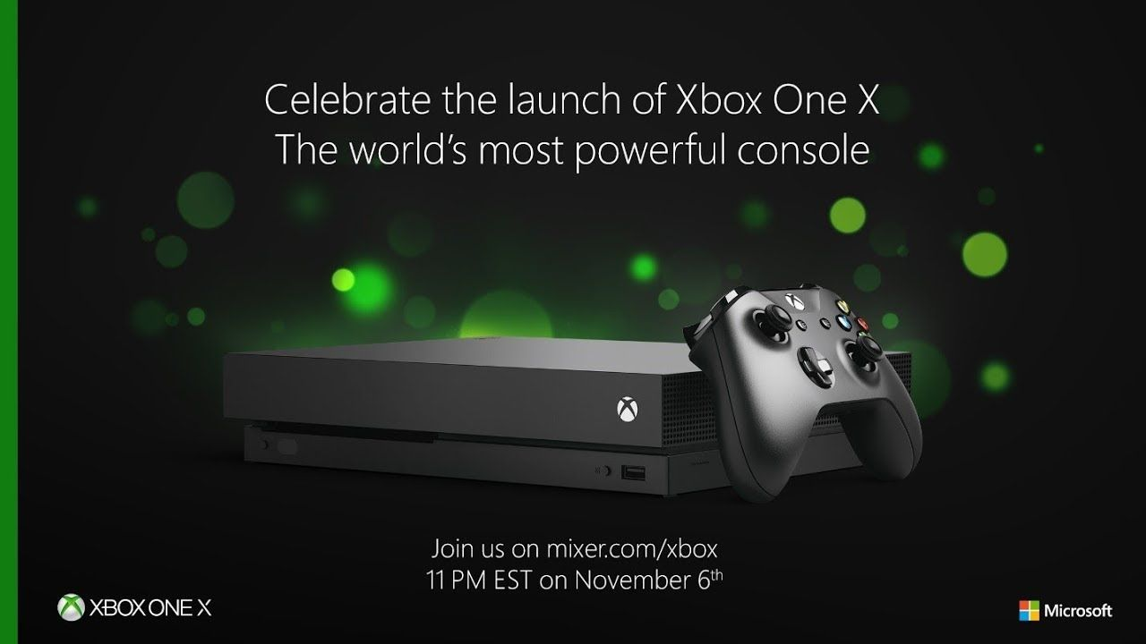 Xbox One X Launch Events Details Revealed Feels Like Next Gen Console Xboxone Xbox360 Gaming Videogames Xbox One Xbox Console