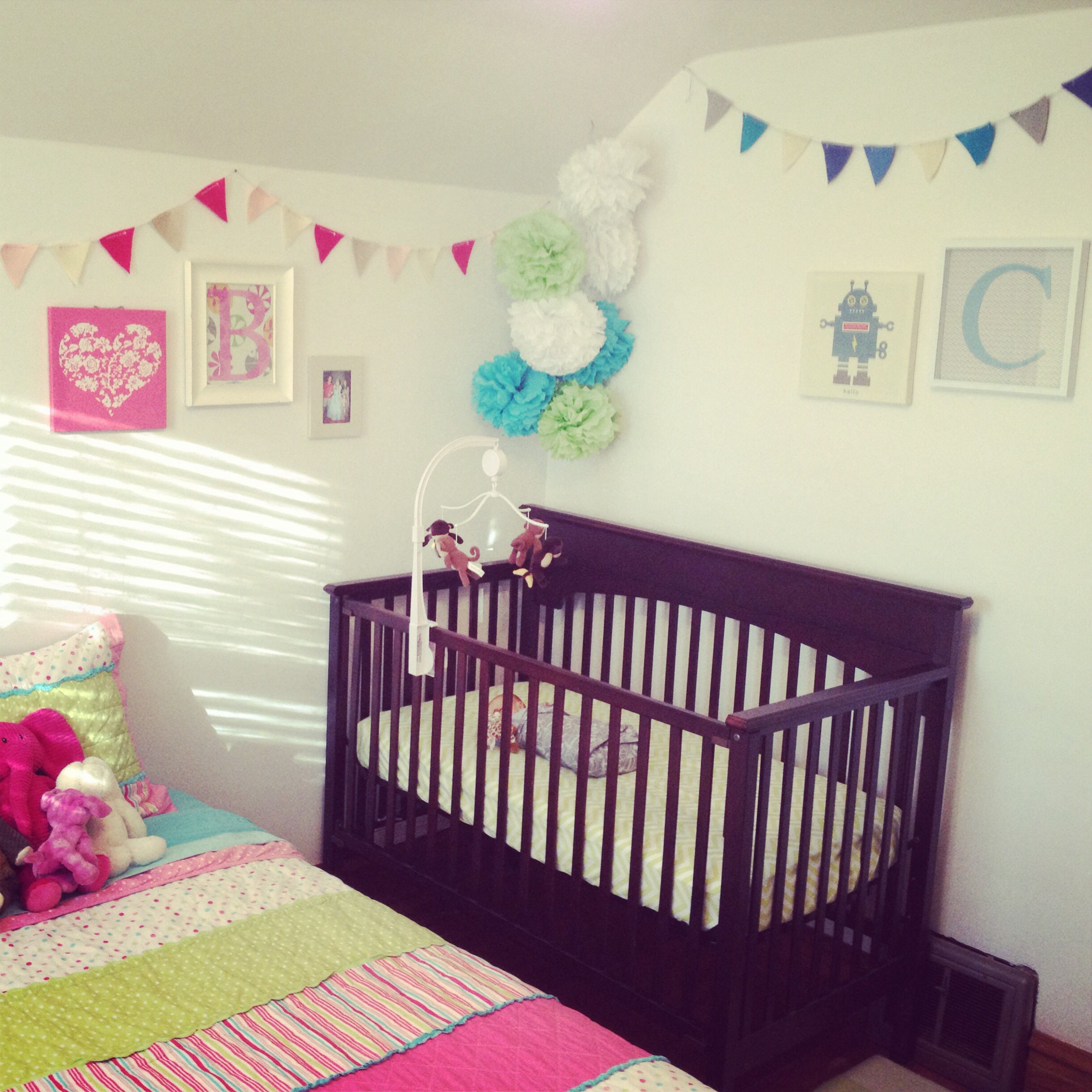 shared little girl and baby boy room room babies and kids rooms
