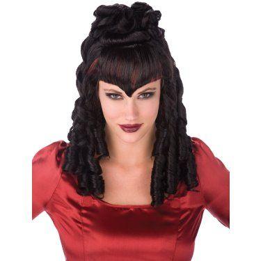 Gothic Curls Wig Adult