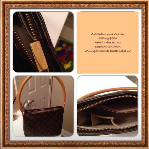 Louis Vuitton Handbag Retail $1000 Excellent Condition Louis Vuitton Bags