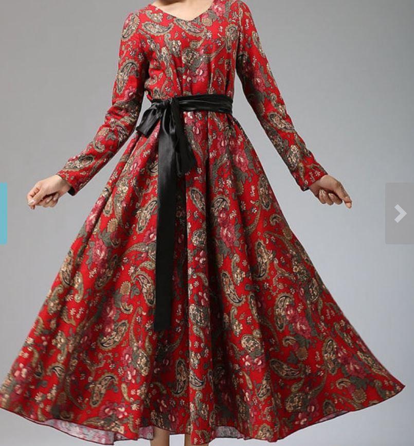 Платье солнце-клеш (Китай)